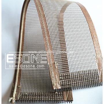 4*4 heat resistant PTFE mesh belt for drying